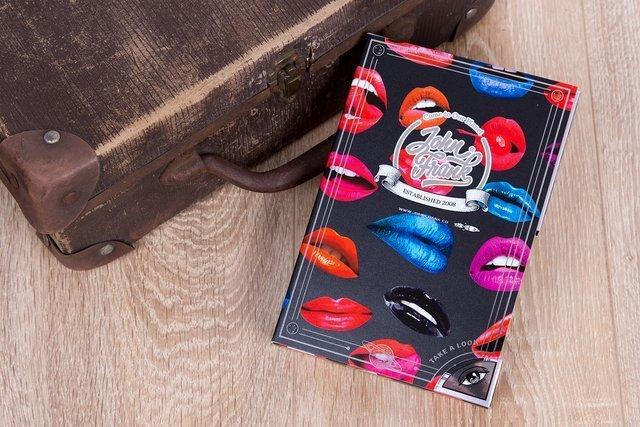 Bokserki męskie JF - Hot Lips