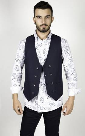 Koszula męska model GEO biała