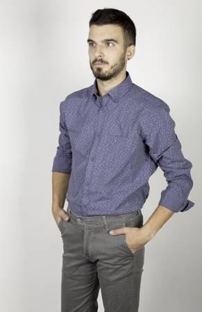 Koszula męska model TOWER niebieska