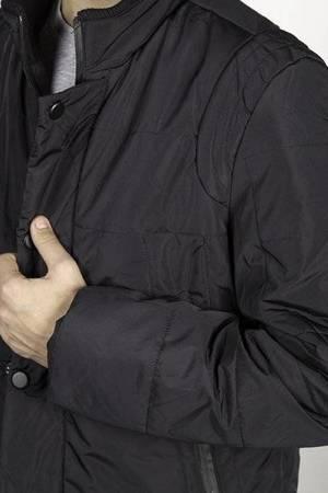 Kurtka męska L.R. model 1364 - czarna