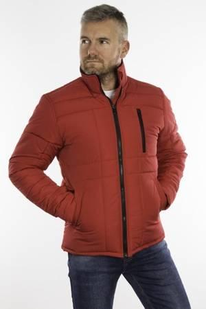 Kurtka zimowa męska 2021Z - czerwona